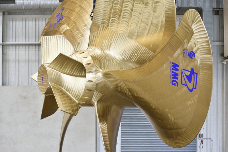 Nabenkappenflossen MMG-Propeller (Quelle: MMG)
