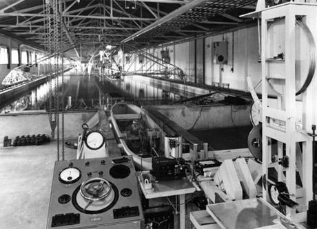 Schlepprinne 1957