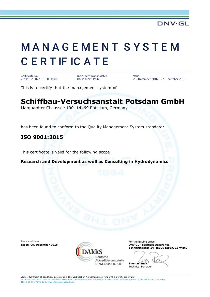 DNV GL Business Assurance Zertifizierung & Umweltgutachter GmbH_Certificate_No_QS-318HH_en
